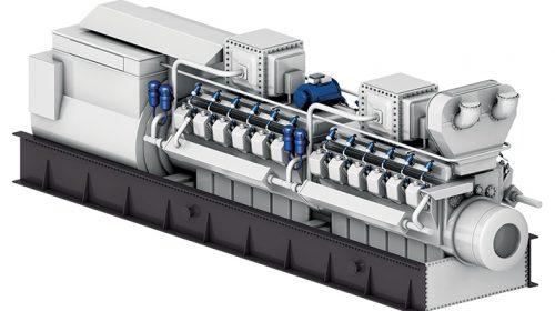 Stationary gas engines